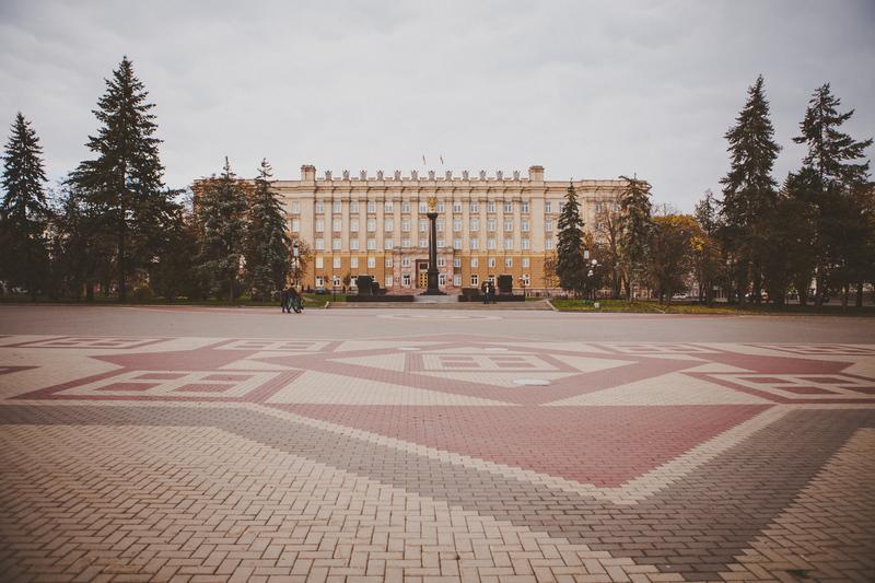 Здание администрации г.Белгорода на Соборной площади
