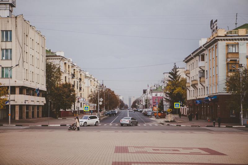 Улицы Белгорода прекрасны..