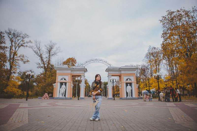 Парк им. В.И. Ленина в Белгороде