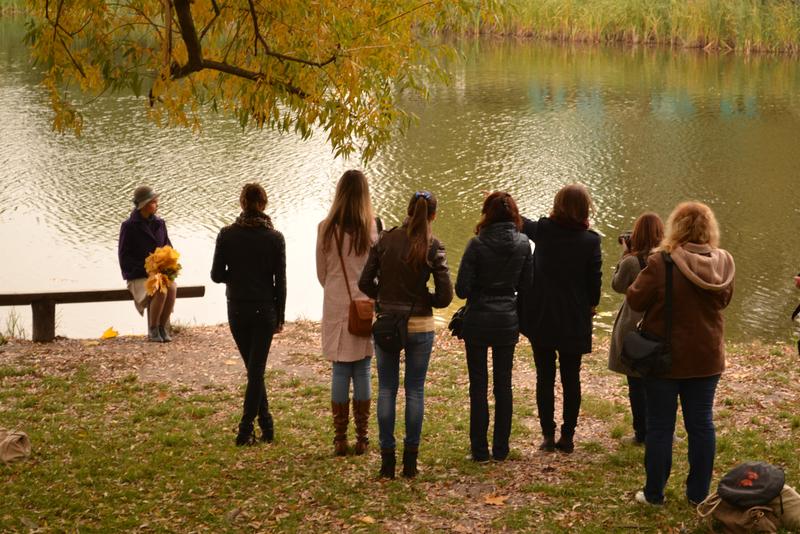 Учебная прогулка в парке Победы