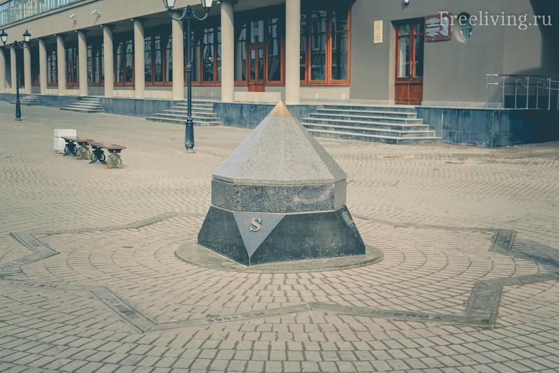 Нулевой километр, Казань